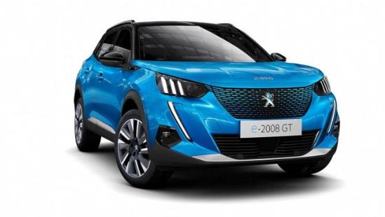 新一代标致2008官图发布,有纯电动车型可选