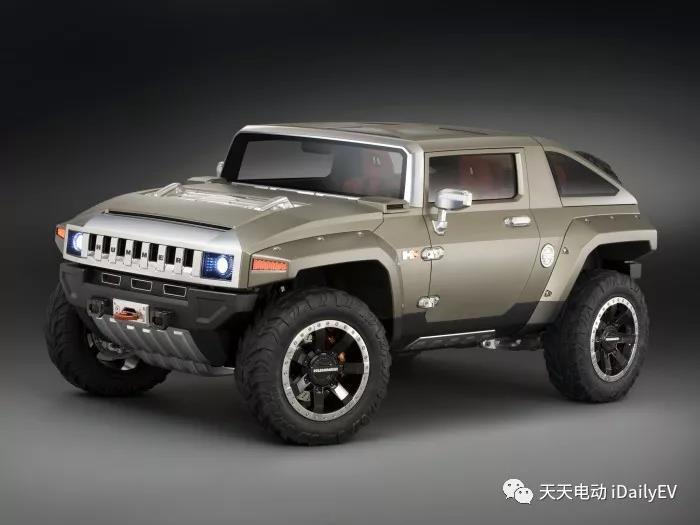 通用汽车正在考虑把悍马复活成纯电动品牌