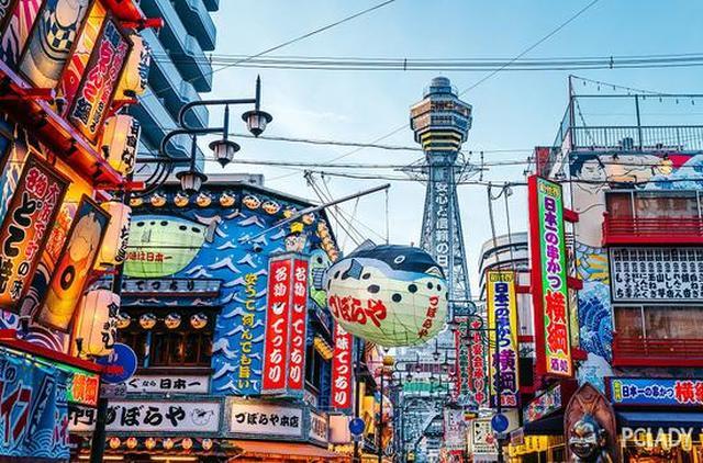 只用1天时间 您就可以把大阪城逛个遍