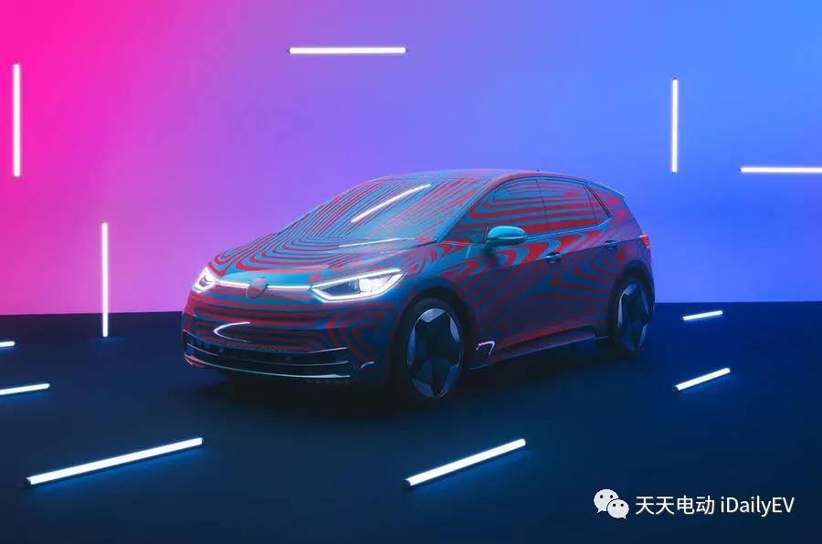 大众公布ID家族首款量产车ID. 3充电与电池相关信息