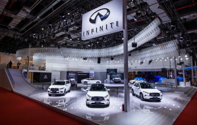 英菲尼迪品牌携两款全新概念车型亮相2019上海车展