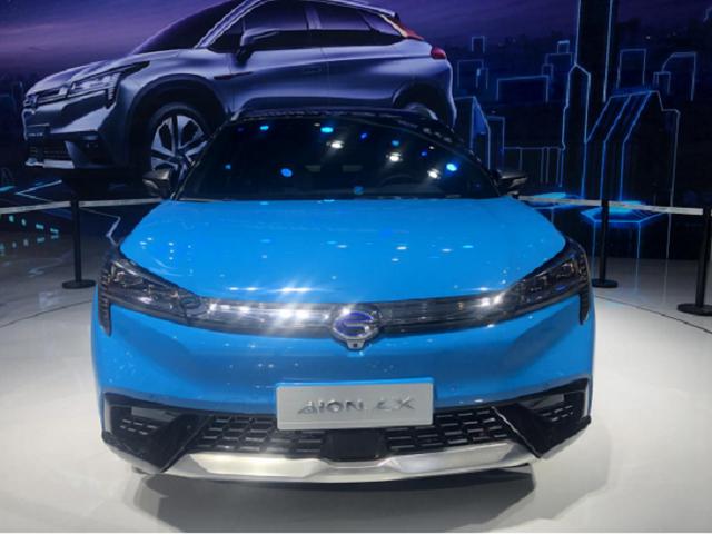 2019上海车展广汽传祺新能源A12亮相、枪口对准荣威MARVEL X