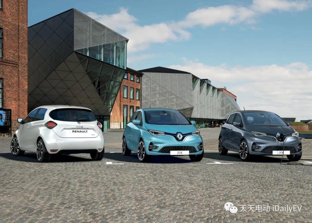 小型电动车ZOE发布新车,雷诺未来还将推2款纯电新车