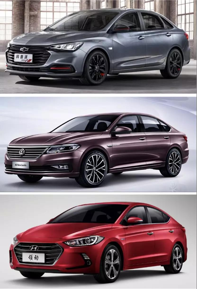 帮你选车|空间颜值配置都不差,同为紧凑型轿车的科鲁泽、领动和朗逸谁更值得入手?